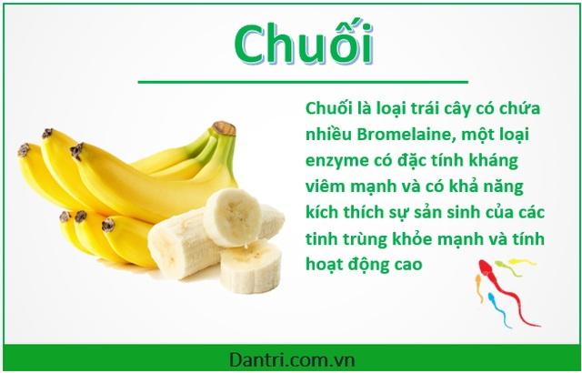 Top 10 thực phẩm giúp các chàng tăng cường số lượng tinh trùng - 3