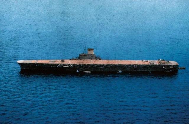 Sai lầm khiến tàu sân bay phát xít Nhật phát nổ bởi một quả ngư lôi - 1