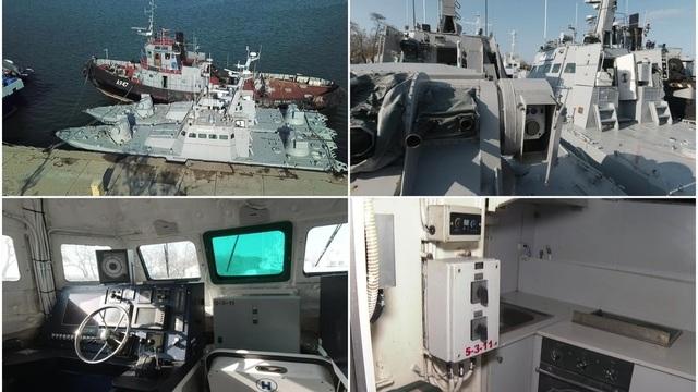 Ukraine cáo buộc Nga phá hỏng 3 tàu chiến, Moscow tung video phản pháo - 1