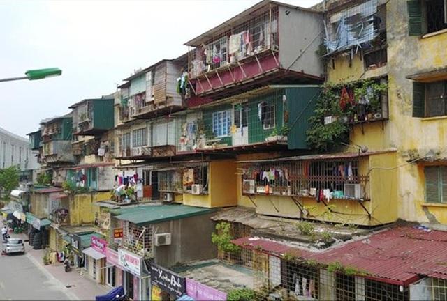 Động đất từ 4 độ Richter có thể làm sập hàng loạt chung cư cũ ở Hà Nội? - 1