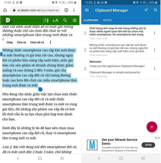 Mẹo hay giúp xử lý văn bản trên smartphone được nhanh chóng và dễ dàng hơn - 2