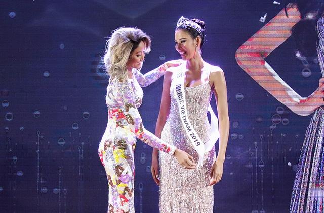 Hoàng Thùy đặt mục tiêu giành vương miện Hoa hậu Hoàn vũ - 2