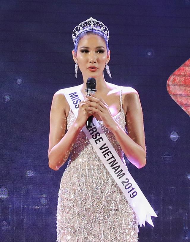 Hoàng Thùy đặt mục tiêu giành vương miện Hoa hậu Hoàn vũ - 5