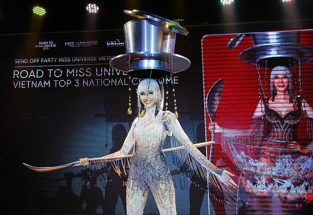 Hoàng Thùy đặt mục tiêu giành vương miện Hoa hậu Hoàn vũ - 8