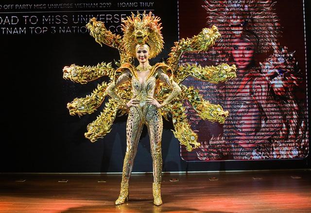 Hoàng Thùy đặt mục tiêu giành vương miện Hoa hậu Hoàn vũ - 6