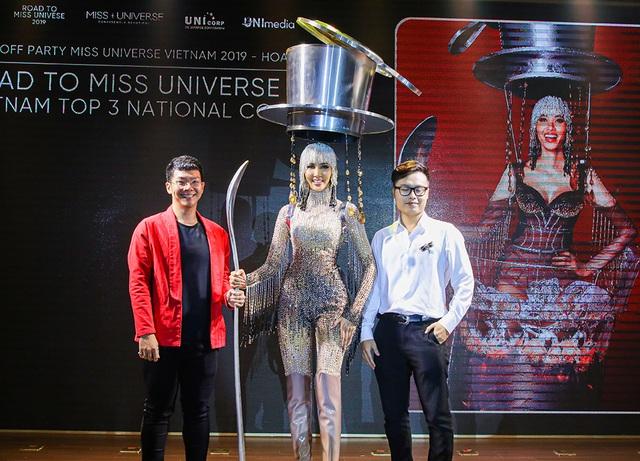 Hoàng Thùy đặt mục tiêu giành vương miện Hoa hậu Hoàn vũ - 10