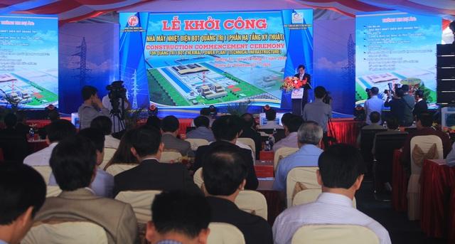 Quảng Trị khởi công xây dựng Nhà máy nhiệt điện hơn 55 ngàn tỷ đồng - 1