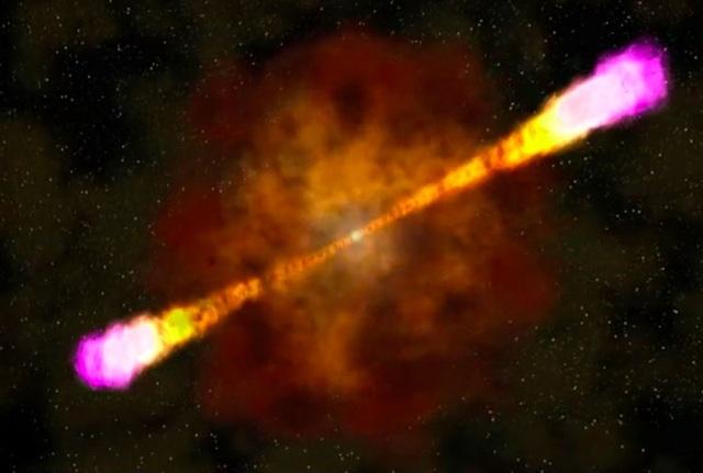 Cái chết của một ngôi sao giải phóng năng lượng mạnh chưa thừng thấy - 1