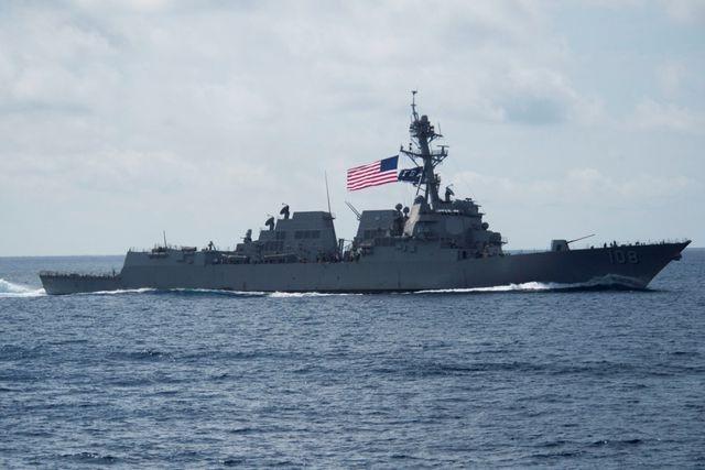 Tàu chiến Mỹ liên tiếp áp sát khu vực Trung Quốc chiếm đóng trái phép tại Biển Đông - 1