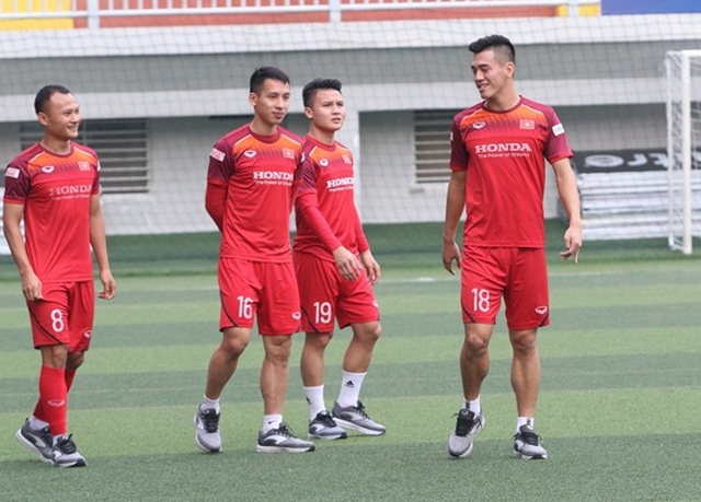 U22 Việt Nam lo lắng về sân cỏ nhân tạo ở SEA Games 30 - 3