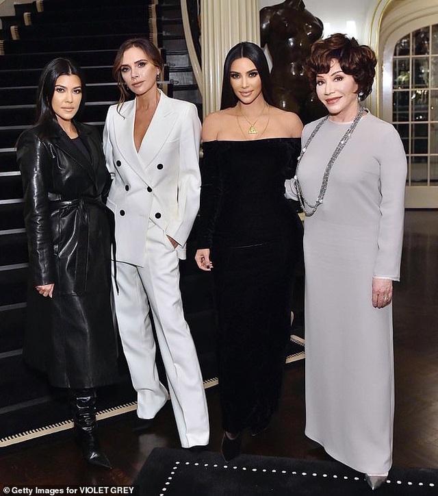 Victoria Beckham gặp chị em cô Kim trong sự kiện - 6