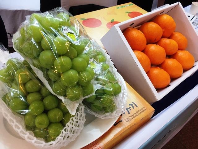 Hàn Quốc muốn bán thêm nhiều nho, lê, táo, nhân sâm…sang Việt Nam - 2