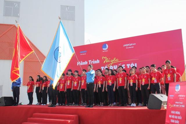 """Gần 1.000 bạn trẻ Đà Nẵng tham gia Hành trình """"Tôi yêu Tổ quốc tôi"""" năm 2019 - 1"""