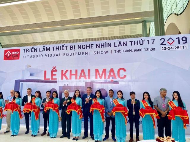 AV Show 2019 lần thứ 17 tại Hà Nội mở cửa đón tín đồ audio tới tham quan - 1