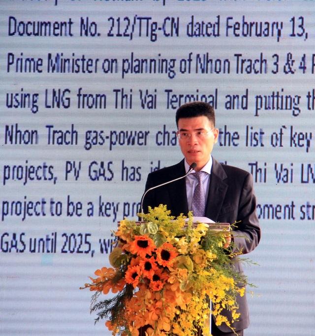 PVN, PV GAS khởi công kho chứa LNG 1 triệu tấn tại Thị Vải - 1