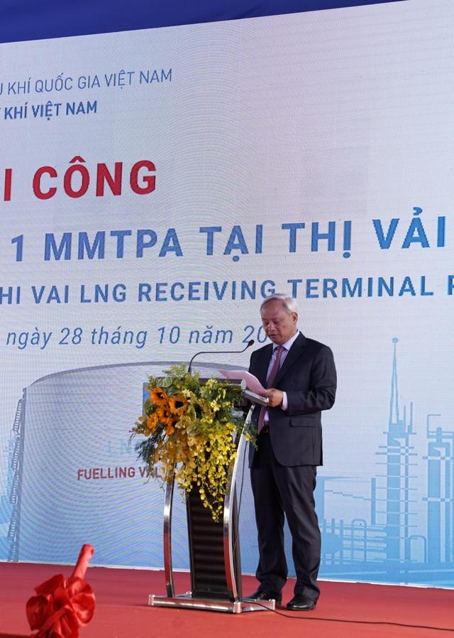 PVN, PV GAS khởi công kho chứa LNG 1 triệu tấn tại Thị Vải - 2