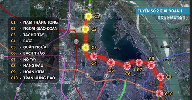 """Hà Nội: """"Choáng váng"""" vì hơn 3.000 tỷ đồng làm 1km đường sắt đô thị - 1"""