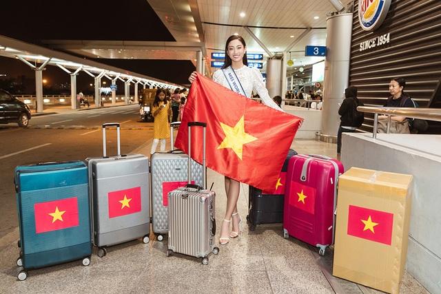 Đỗ Mỹ Linh, Tiểu Vy tiễn Lương Thùy Linh đi thi Hoa hậu Thế giới - 7