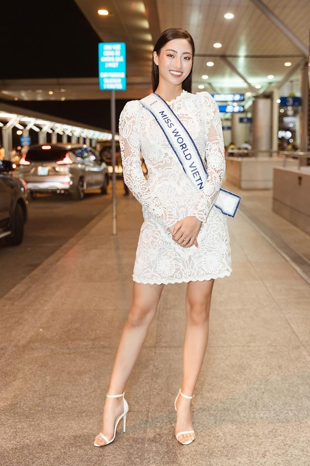 Đỗ Mỹ Linh, Tiểu Vy tiễn Lương Thùy Linh đi thi Hoa hậu Thế giới - 1