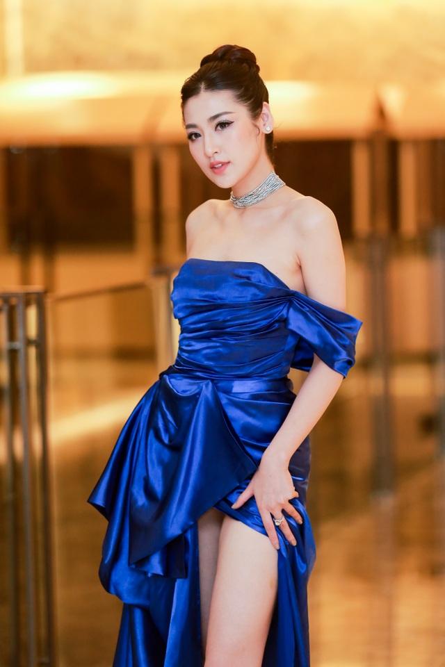 Tường San rạng rỡ xuất hiện sau thành tích Top 8 Hoa hậu Quốc tế - 5