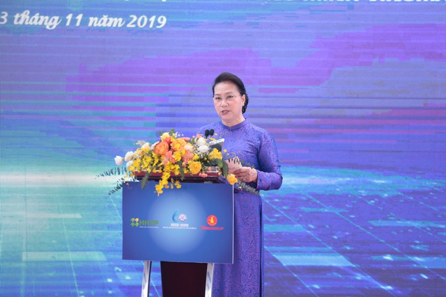 Chủ tịch Quốc hội: Khu Công nghệ cao Hòa Lạc phải là trung tâm đào tạo nguồn nhân lực công nghệ bậc cao - 3