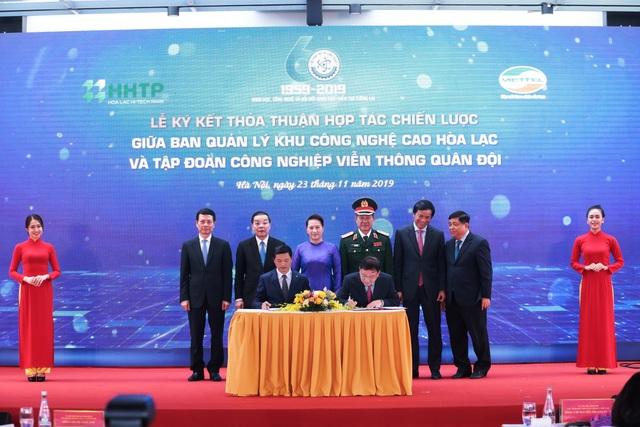 Chủ tịch Quốc hội: Khu Công nghệ cao Hòa Lạc phải là trung tâm đào tạo nguồn nhân lực công nghệ bậc cao - 5