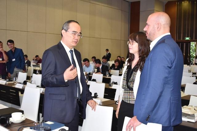 Bí thư Nguyễn Thiện Nhân: Thuận theo tự nhiên giúp giảm chi phí chống ngập - 3