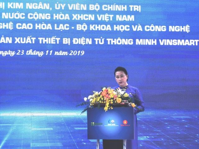 Chủ tịch Quốc hội: Khu CNC Hòa Lạc cần tạo sức cạnh tranh của công nghệ Việt - 1