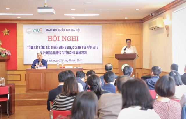 Đại học Quốc gia HN tiếp tục dùng kết quả thi THPT quốc gia để xét tuyển năm 2020 - 1