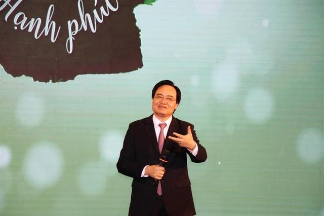 """Bộ trưởng Phùng Xuân Nhạ: """"Hiệu trưởng hạnh phúc sẽ tạo ra môi trường học tập tốt"""" - 1"""
