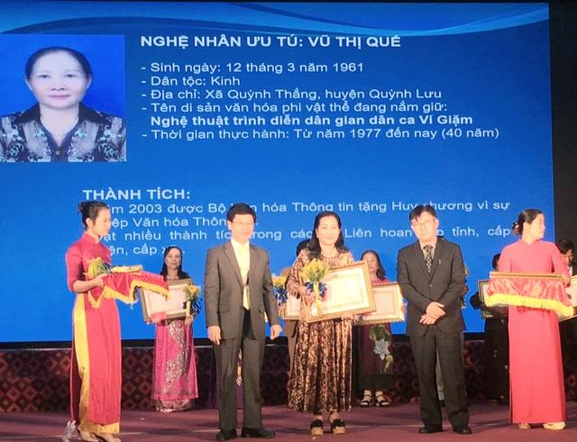 Nghệ An: Tổ chức Lễ trao tặng danh hiệu Nghệ nhân ưu tú cho 26 cá nhân - 2