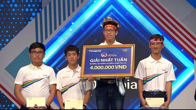 Nam sinh Hà Nội bứt phá, giành vòng nguyệt quế vòng thi tuần Olympia  - 1