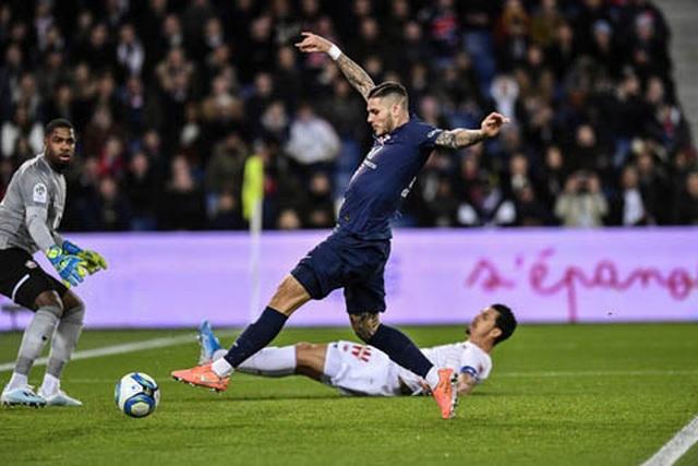 Icardi và Di Maria ghi bàn giúp PSG vững ngôi đầu bảng Ligue 1 - 1