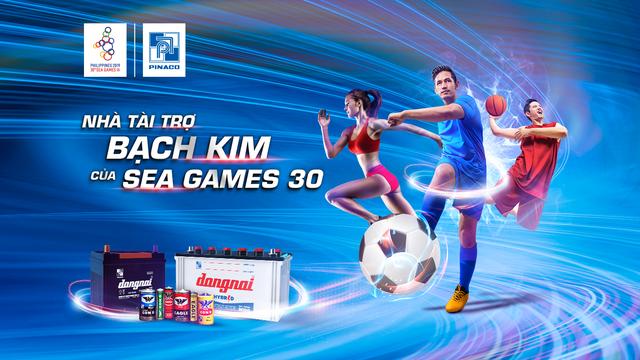 PINACO sẽ trao tặng Đoàn thể thao Việt Nam gần 1 tỷ đồng tại SEA Games 2019 - 2