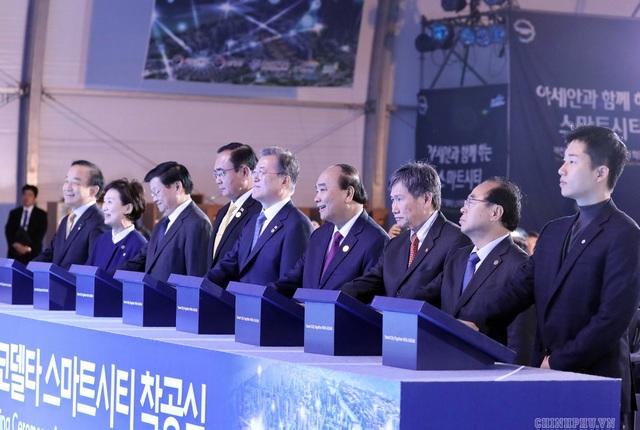 Thủ tướng dự lễ động thổ dự án trọng điểm quốc gia của Hàn Quốc - 1