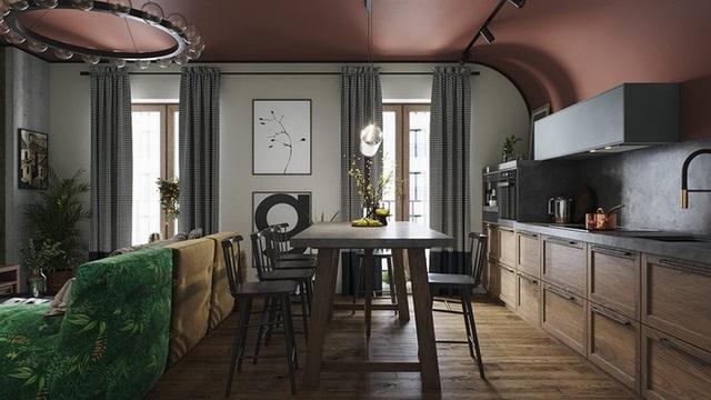 Vẻ đẹp khác lạ của căn chung cư có cách trang trí không giống ai - 2