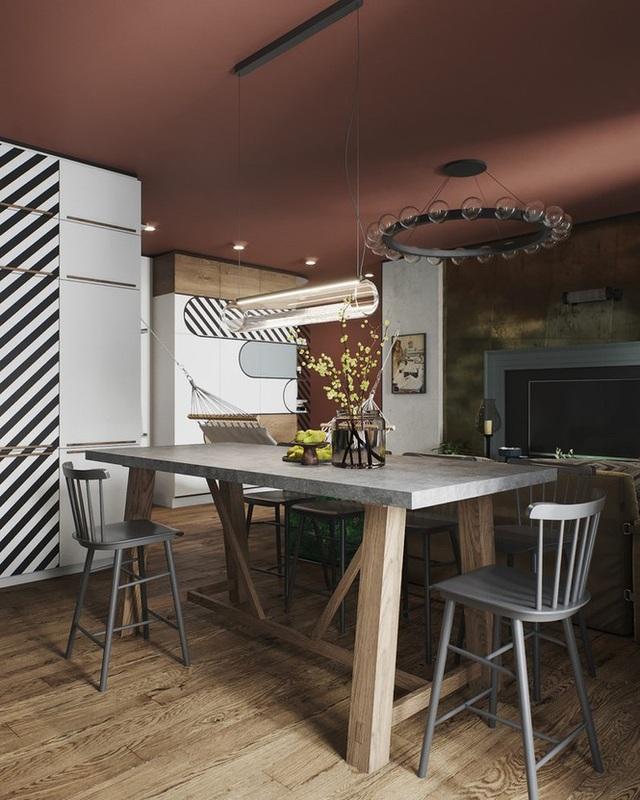 Vẻ đẹp khác lạ của căn chung cư có cách trang trí không giống ai - 3
