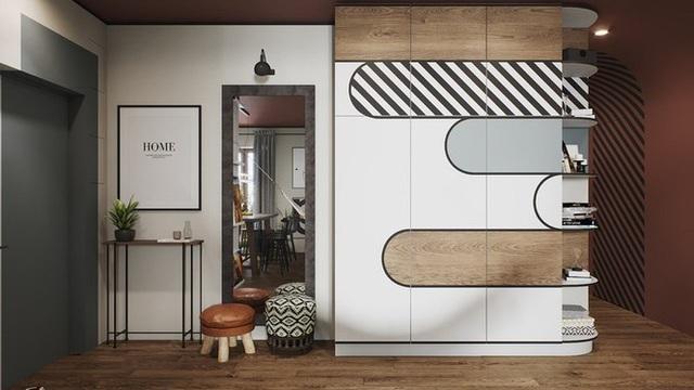 Vẻ đẹp khác lạ của căn chung cư có cách trang trí không giống ai - 5