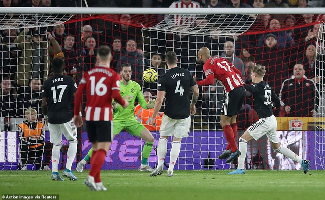 """Sheffield United 3-3 Man Utd: Bảy phút kỳ lạ của """"Quỷ đỏ"""" - 2"""