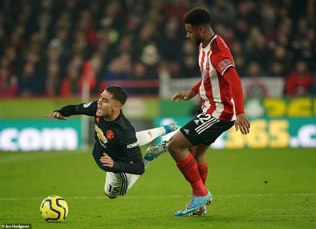 """Sheffield United 3-3 Man Utd: Bảy phút kỳ lạ của """"Quỷ đỏ"""" - 1"""