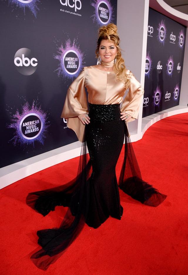 Selena Gomez khoe ngực căng đầy trên thảm đỏ American Music Awards - 14