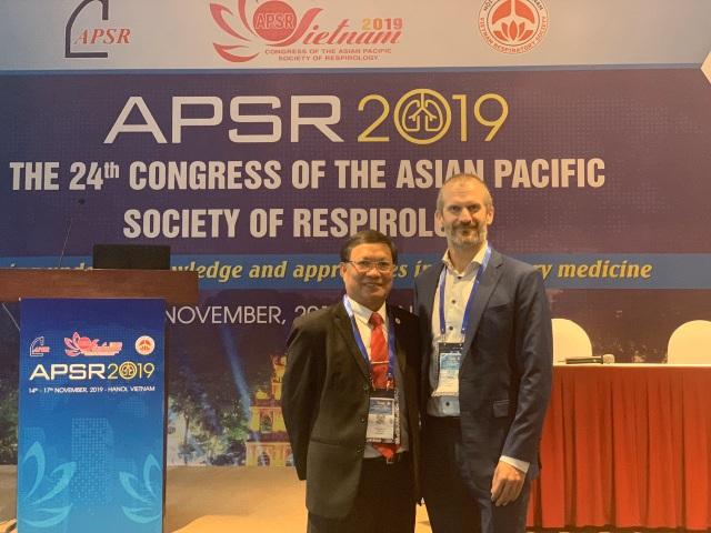 GSK đồng hành cùng Hội nghị Hô hấp Châu Á- Thái Bình Dương (APSR) 2019 - 2