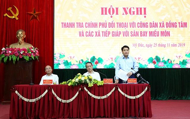 Chủ tịch Hà Nội đối thoại với người dân Đồng Tâm - 1