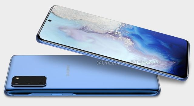 Lộ thiết kế hoàn chỉnh Galaxy S11e với cụm 3 camera nổi bật - 1