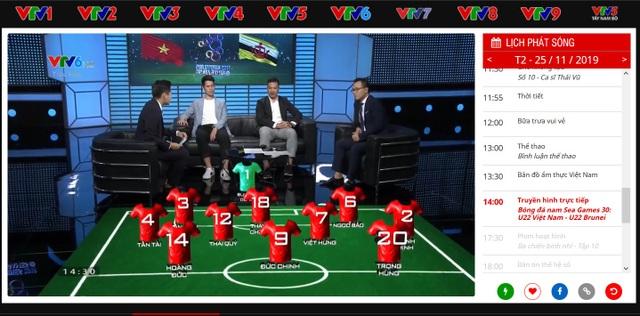 Hướng dẫn xem trực tiếp các trận đấu của đội tuyển bóng đá U22 Việt Nam tại Sea Games 30 - 3