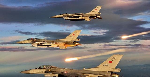 Thổ Nhĩ Kỳ tung dàn F-16 thử hệ thống rồng lửa S-400 - 1