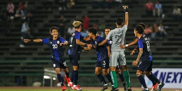 U22 Campuchia suýt tạo nên bất ngờ trước U22 Philippines ở SEA Games - 1