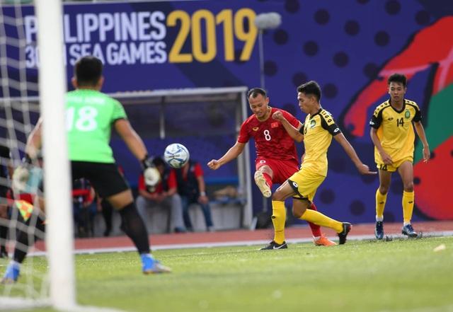 Những thử nghiệm của HLV Park Hang Seo trong trận đấu với U22 Brunei - 1