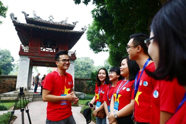 Trí thức trẻ Việt Nam trên thế giới về thăm Thủ đô, nuôi dưỡng tình yêu quê hương - 5