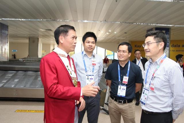 Đoàn thể thao Việt Nam háo hức lên đường dự SEA Games - 7